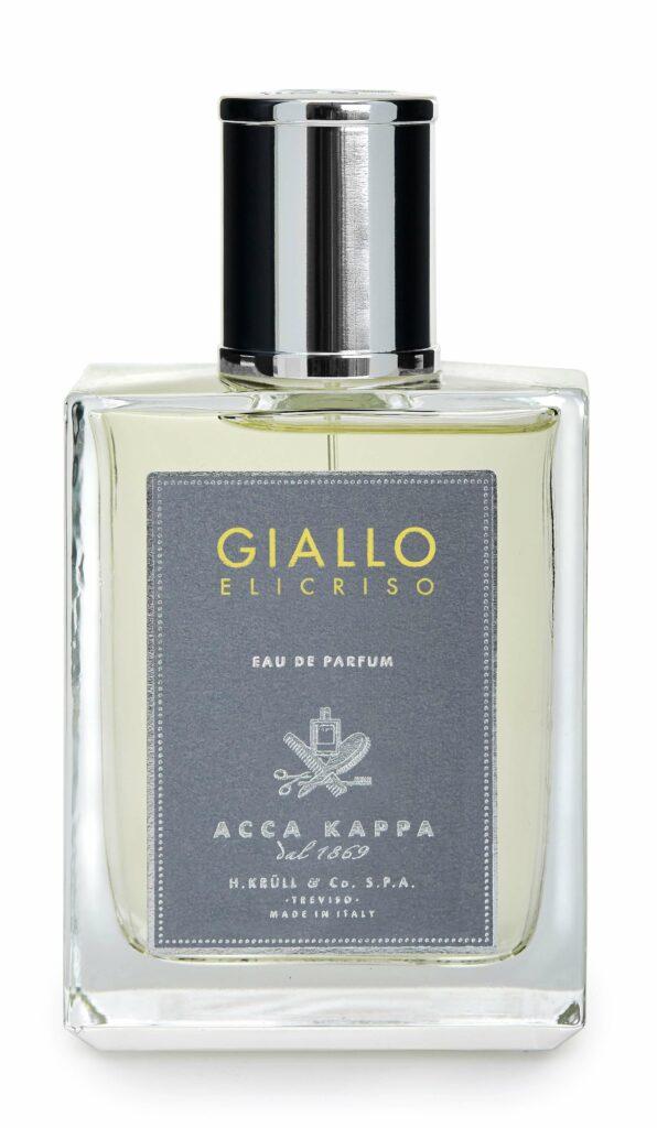 Freisteller eines Acca Kappa Giallo Elicriso Eau de Parfums.
